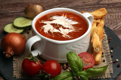 Νόστιμη ντοματόσουπα του New Jersey