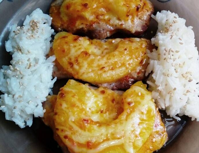 Χαβανέζικα παϊδάκια με ανανά