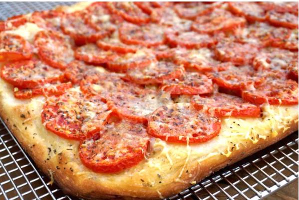 Foccacia-πίτσα