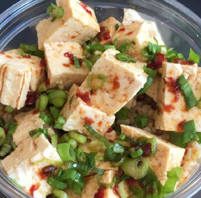Χαβανέζικο vegan Poke Bowl (σαλάτα)
