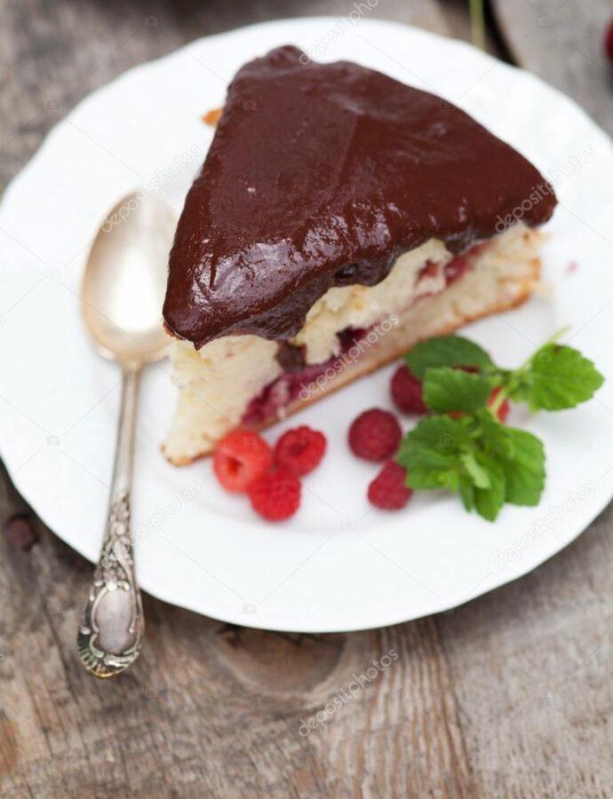 Γλάσο ρευστό σοκολάτας (Ganache) απλό για επικάλυψη (κέικ, τούρτα, γλυκά)