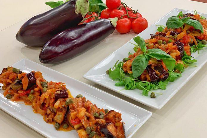 Καπονάτα (γλυκόξινη σάλτσα με λαχανικά)