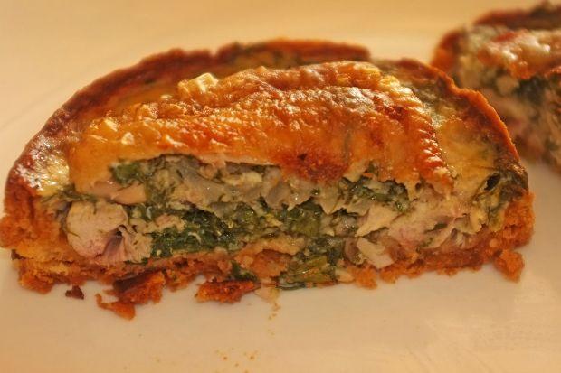 Τάρτα σκεπαστή με κοτόπουλο (σαν μπουρέκι τούρκικο)