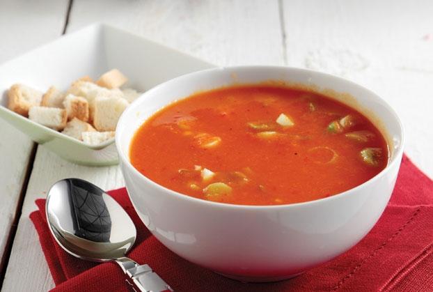 Ντοματόσουπα νηστίσιμη με ότι ζυμαρικό θέλετε
