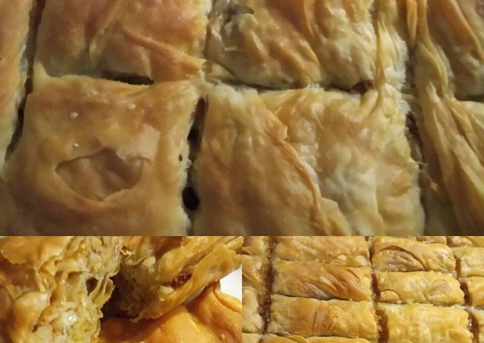 Φύλλο για πίτα (δόση για 20 φύλλα/ 10 φύλλα ανά πίτα)