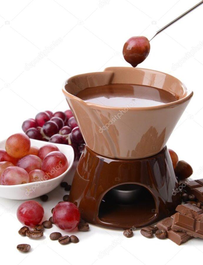 Φοντύ σοκολάτας (fondue)
