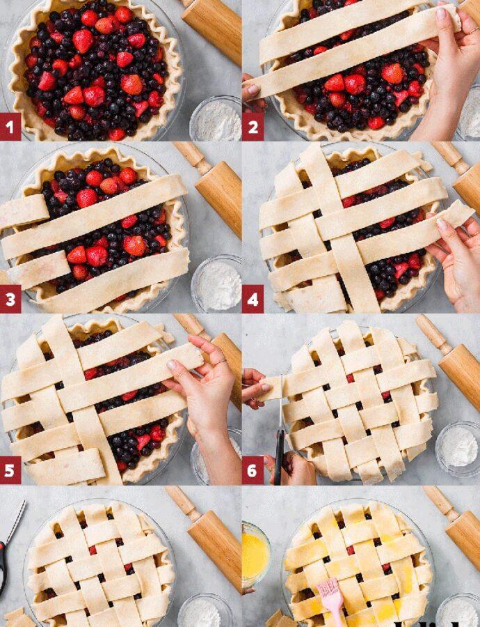 Σχέδιο για να καλύπτουμε γλυκά-τάρτες-πίτες