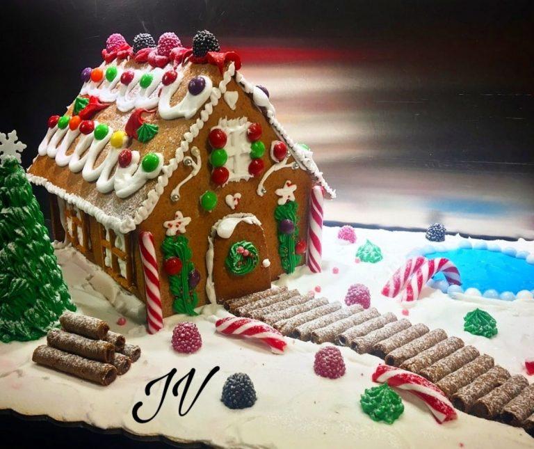 Το γλάσο-κόλλα για τα Χριστουγεννιάτικα σπιτάκια (Royal icing)
