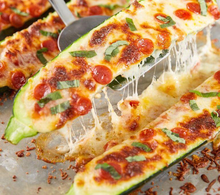 Πιτσάκια express με κολοκύθι και τυριά (χωρίς γλουτένη)