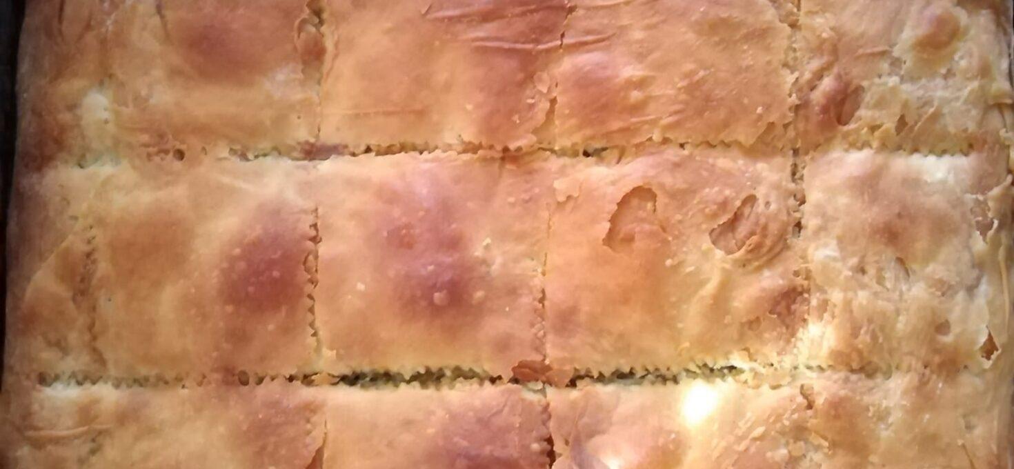 Σπανακοτυρόπιτα με 8 χειροποίητα φύλλα