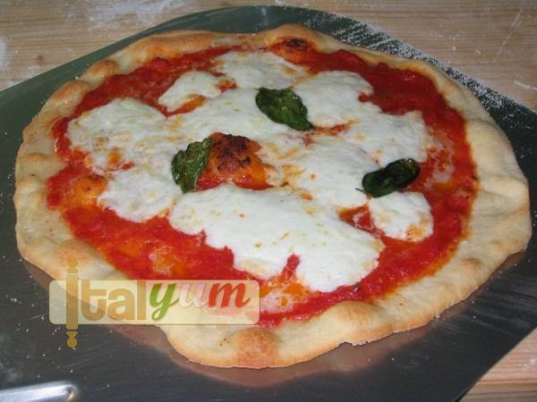 Ζύμη πίτσας με προζύμι Biga (ιταλικό προζύμι)