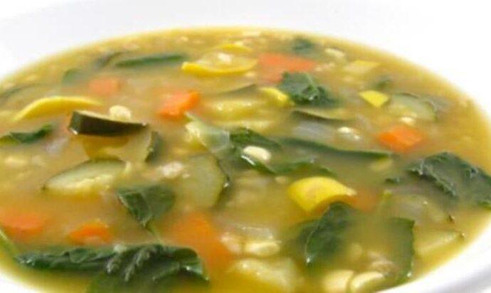 Η σούπα του Ιπποκράτη (αποτοξινωτική)
