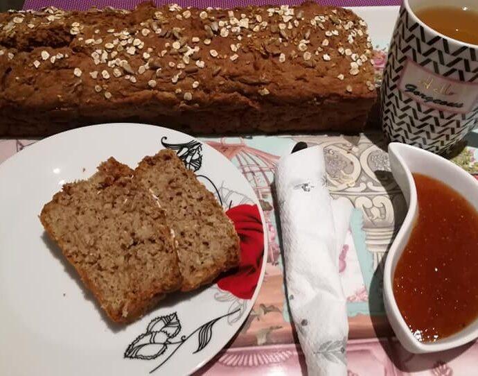 Ψωμί με αλεύρι ανάμεικτο και μπύρα