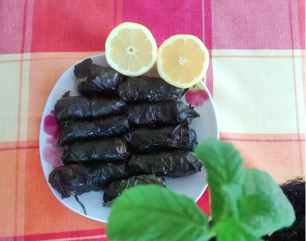 Παντζαροντολμάδες (ντολμάδες με φύλλα παντζαριού)