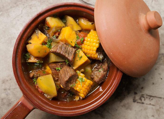 Κρεατόσουπα με λαχανικά (Αργεντινής) Carbonada