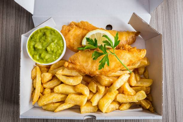 Fish and chips (μπακαλιάρος με πατάτες) αυθεντική συνταγή Αγγλίας