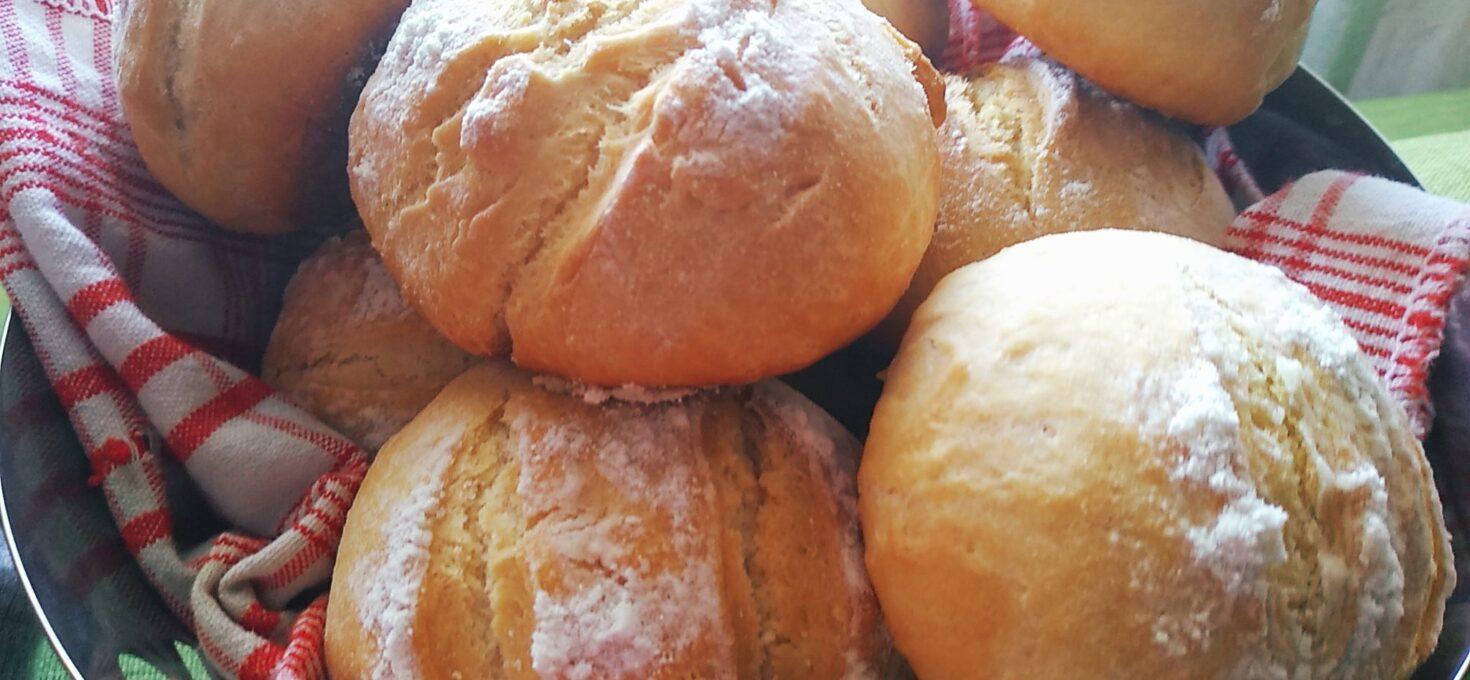 Ψωμί (ατομικά ψωμάκια) χωρίς μαγιά, χωρίς αναμονή! Όνειρο!