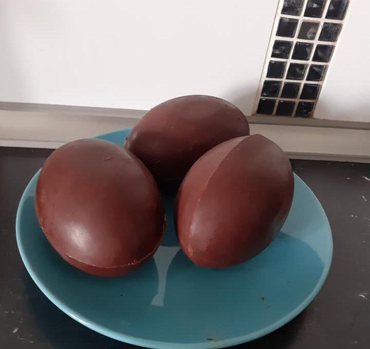 Αυγά σοκολατένια Πασχαλινά