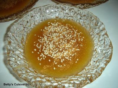 Μελόχοντρος (σιμιγδάλι με μέλι, νηστίσιμο) από τα Κύθηρα