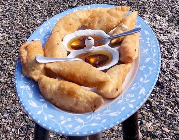 Πουγκιά με μέλι από την Αστυπάλαια (αλμυρά ή γλυκά)