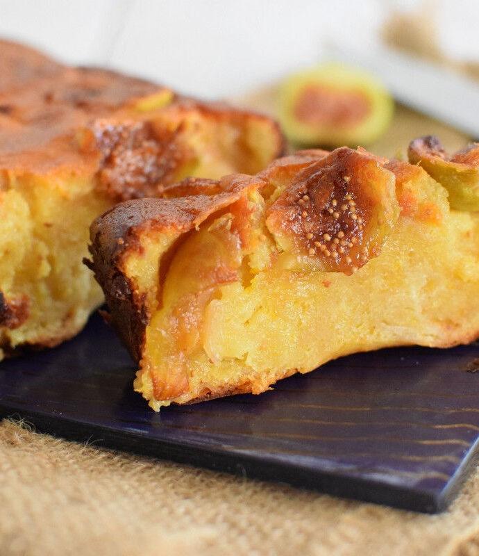 Κέικ-πίτα με σύκο