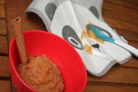 Βρεφικός πουρές-κρέμα με γλυκοπατάτα