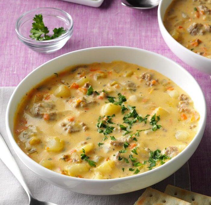 Φαγητό με κιμά και λαχανικά (Αγγλική συνταγή)
